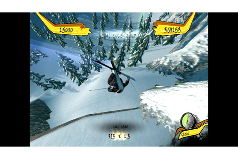 FreakOut Extreme Freeride Demo Gameplay/ Skiing Game - YouTube