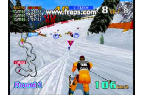 Sega Ski Super G (GamePlay) - YouTube