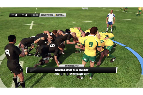 Rugby Challenge 3 - My First Game! - YouTube