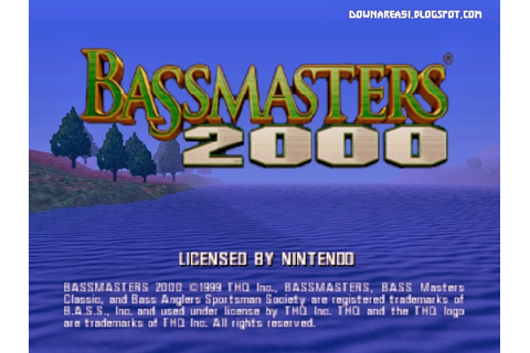 Bassmasters 2000 (N64) - Download Game PS1 PSP Roms Isos ...