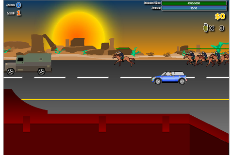 Highway Pursuit on Qwant Games