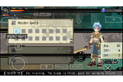 Nayuta No Kiseki (English Patch) PSP ISO Free Download ...