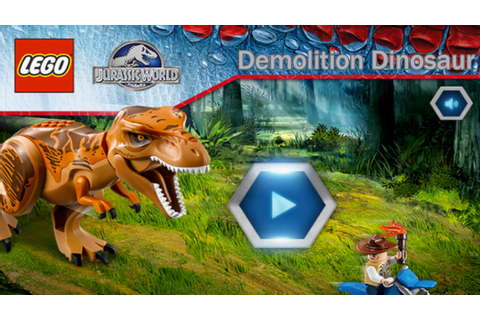 Lego Jurassic World: Demolition Dinosaur - Ridiculous ...