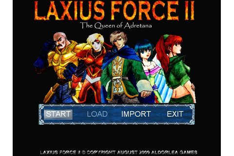 Laxius Force II The Queen of Adretana v1.6 | PC Mini Games ...