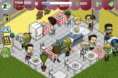 iPhone/iPad review of the day: Zombie Cafe - because ...