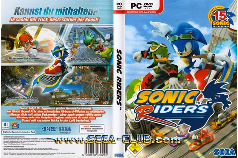 Sonic Riders PC Game ~ Download Games Keygen For Free ...