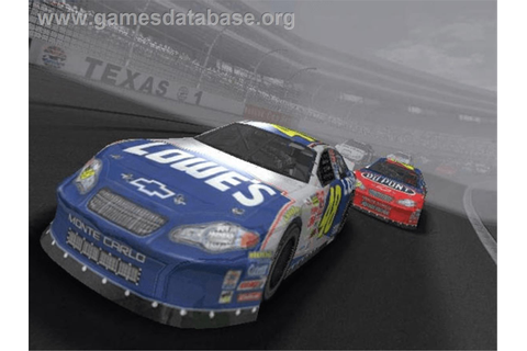 NASCAR Thunder 2004 - Microsoft Xbox - Games Database