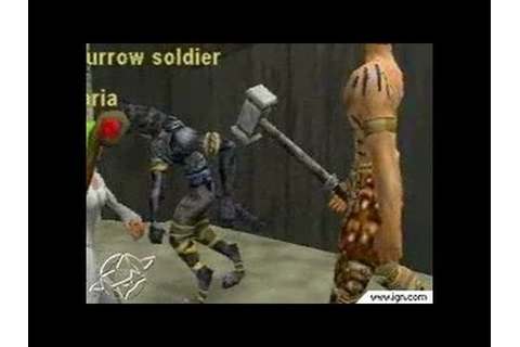 EverQuest Online Adventures PlayStation 2 Gameplay - YouTube
