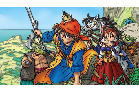 Dragon Quest 8 Artwork Showcases New Characters for 3DS - IGN