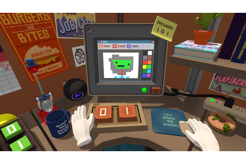 Job Simulator Gameplay - Office Worker - HTC Vive - YouTube