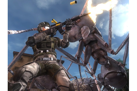 Review: Earth Defence Force 5 (Sony PlayStation 4 ...