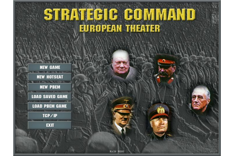 Strategic Command: European Theater on GOG.com