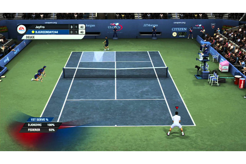 Grand Slam Tennis 2 (Djokovic Vs Federer) Online Ranked ...
