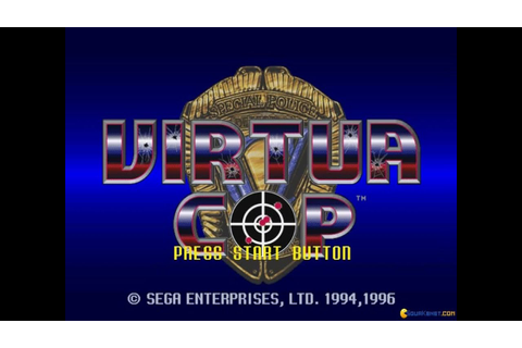 Virtua Cop gameplay (PC Game, 1995) - YouTube