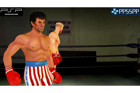 PSP Rocky Balboa SaveGame - Save File Download