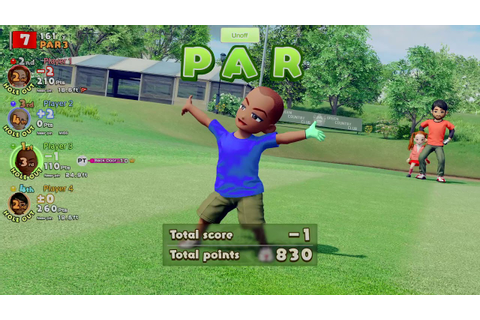 Everybody's Golf 4 Way Multiplayer ft Hugo, Luke, Gids ...