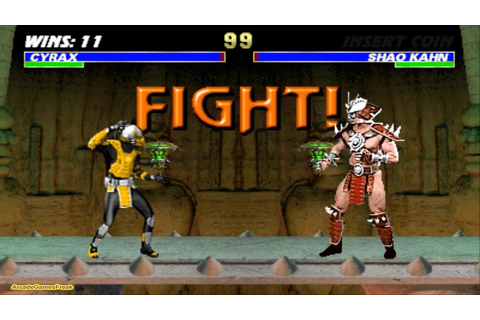Mortal Kombat 3 arcade Cyrax Gameplay Playthrough - YouTube