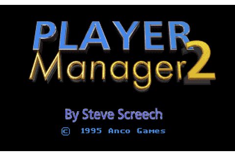 Player Manager 2 Details - LaunchBox Games Database