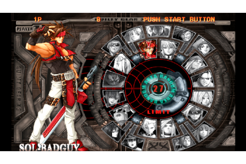 Guilty Gear X2: The Midnight Carnival #Reload - Sol Badguy ...