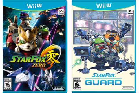Games: Star Fox Zero + Star Fox Guard – Nintendo Wii U ...