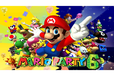 Mario Party 6 Gamecube Nintendo Part 1 Solo Mode одиночный ...