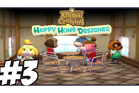 Animal Crossing: Happy Home Designer - Gameplay ...