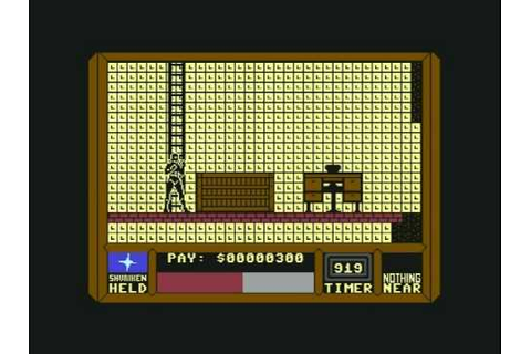 Saboteur II: Avenging Angel (Commodore C64) gameplay - YouTube