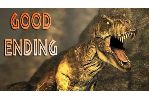 Jurassic Park : The Game - Good Ending (TRUE HD) - YouTube