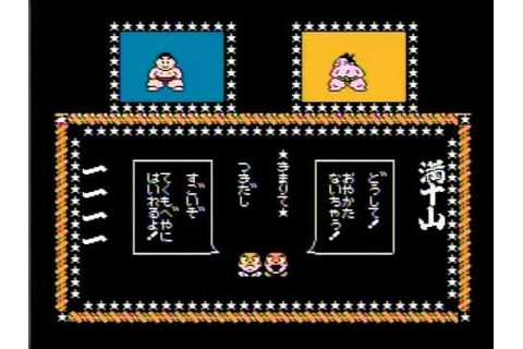 Tsuppari Oozumou gameplay, famicom - YouTube