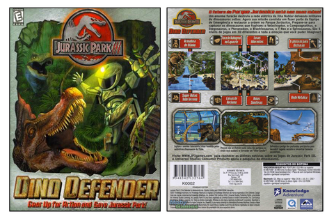 Jurassic Park III: Dino Defender on Qwant Games