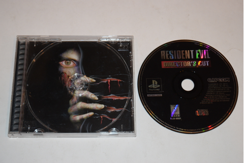 Resident Evil Directors Cut Sony Playstation PS1 Game Disc ...