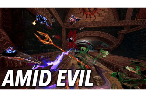 Amid Evil PC Game Latest Version Free Download - The Gamer HQ