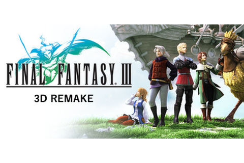 FINAL FANTASY III on Steam