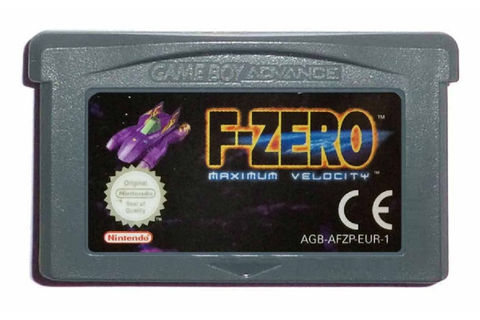 Buy F-Zero: Maximum Velocity Game Boy Advance Australia