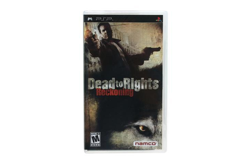 Dead To Rights: Reckoning PSP Game Namco - Newegg.com