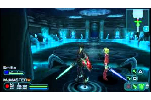 Download PSP Game - Phantasy Star Portable 2 U ISO - YouTube