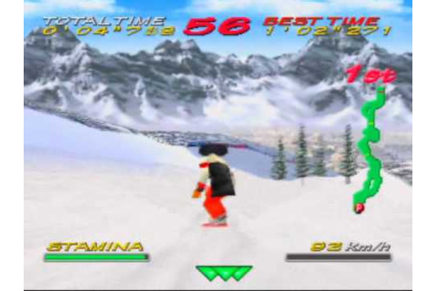 Big Mountain 2000 Game Sample - N64 - YouTube