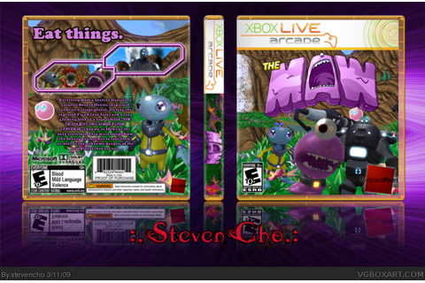 The Maw Xbox 360 Box Art Cover by stevencho