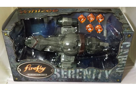Firefly Yahtzee Game Serenity Ship