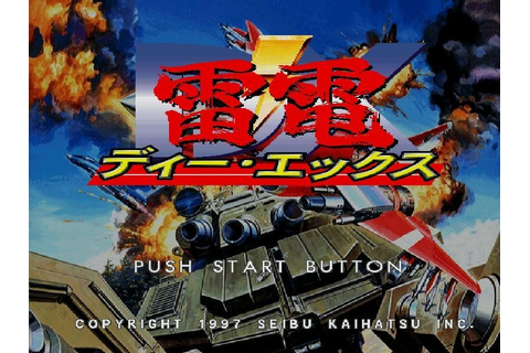 Raiden DX (1997) by Seibu Kaihatsu PS game