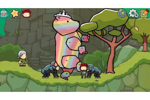 Scribblenauts Unlimited now available on iOS