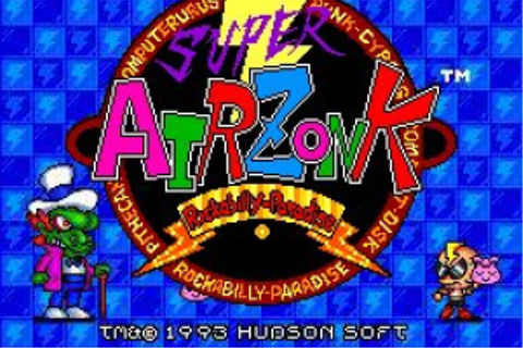 Super Air Zonk: Rockabilly Paradise (TG-16 / TurboGrafx-16 ...