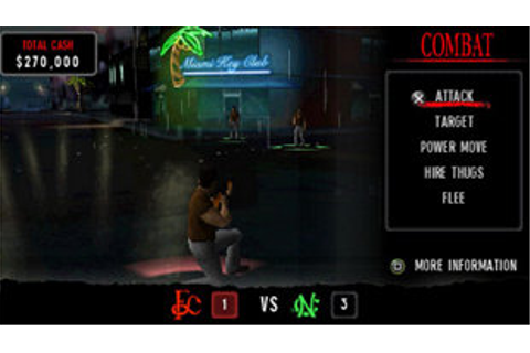 Scarface™: Money, Power, Respect Game | PSP - PlayStation