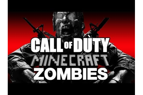 MINECRAFT TRAILER ★ Call of Duty Zombies (Zombie Games ...