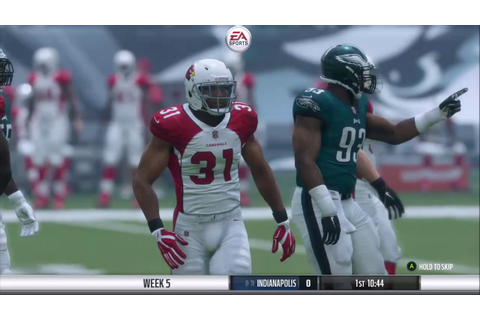 Madden NFL 18 - Xbox One Gameplay - YouTube