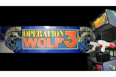 Operation Wolf 3 Arcade (1994) Playthrough! - YouTube
