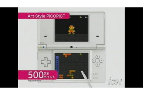 Art Style: Pictobits Videos, Movies & Trailers - Nintendo ...