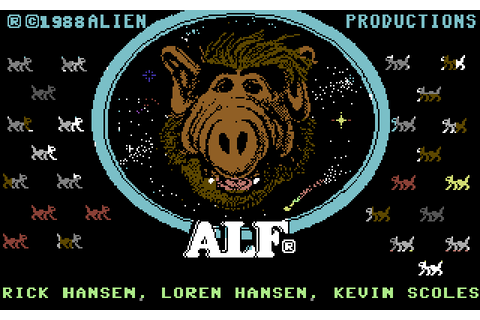 ALF: The First Adventure (1988) by Box Office C64 game