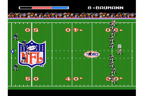Tecmo Super Bowl Game Download | GameFabrique