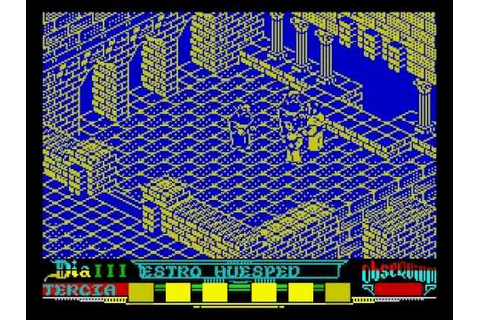 ZX Spectrum [001] La abadía del crimen - YouTube